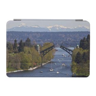Montlake Bridge and Cascade Mountains iPad Mini Cover