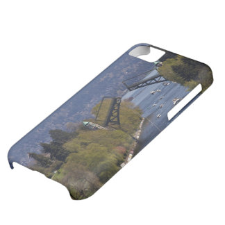 Montlake Bridge and Cascade Mountains iPhone 5C Case