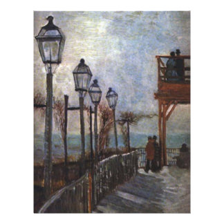 Montmartre by Vincent van Gogh Personalized Flyer