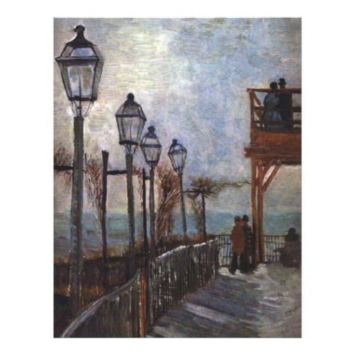 Montmartre by Vincent van Gogh Personalized Flyer