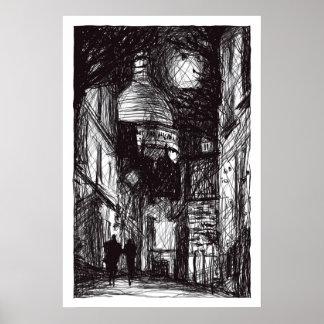 Montmartre I Print
