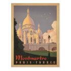 Montmartre - Paris, France Postcard