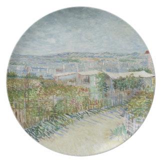 Montmartre Plate