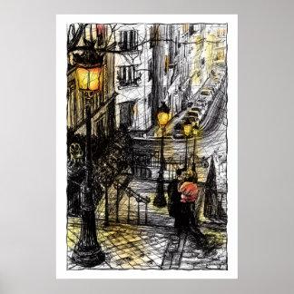 Montmartre VIII Poster