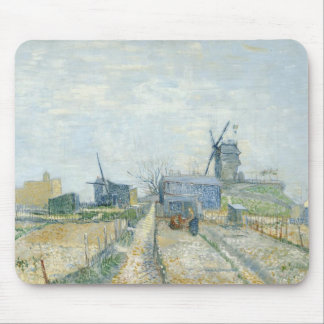Montmartre: windmills and allotments mouse mat