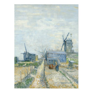 Montmartre: windmills and allotments postcard