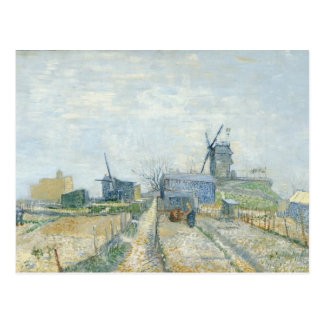 Montmartre windmills and allotments postcards