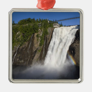 Montmorency Falls near Quebec City. Christmas Ornament