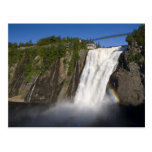 Montmorency Falls near Quebec City. Post Cards