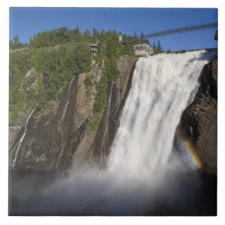 Montmorency Falls near Quebec City. Tile