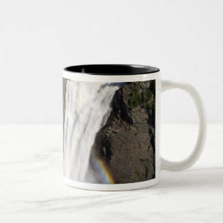 Montmorency Falls near Quebec City. Two-Tone Coffee Mug