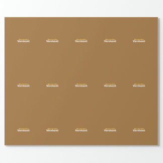 Montpelier, Vermont Wrapping Paper