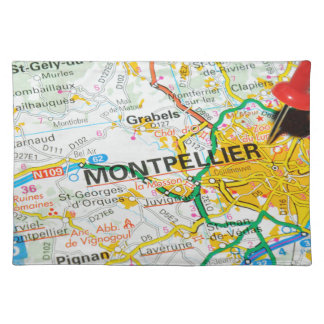 Montpellier, France Placemat