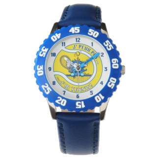 Montre Licorne Blue I Cannot, I have Tennis Watches