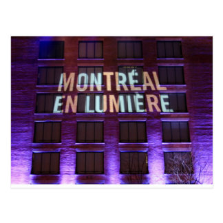 Montrea, Canada Postcard