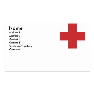 MONTREAL (2) Double-Sided STANDARD BUSINESS CARDS (Pack OF 100)
