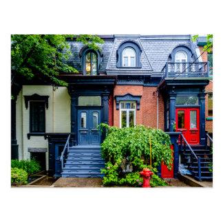 Montreal apartment postcard
