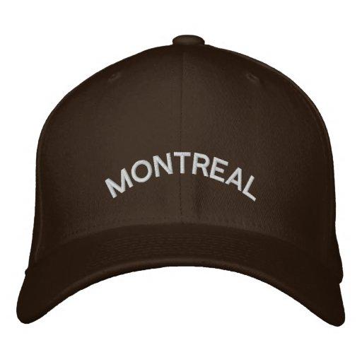 Montreal Baseball Cap Embroidered Canada Cap
