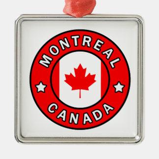Montreal Canada Christmas Ornament