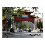 Montreal China Town Postcard