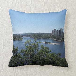 Montreal City, Canada Cushion