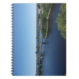 Montreal City River Bridge Notebook