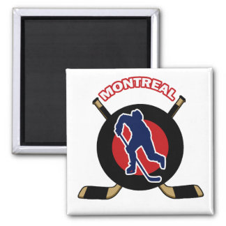 MONTREAL HOCKEY MAGNET