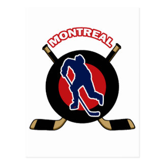 MONTREAL HOCKEY POSTCARD