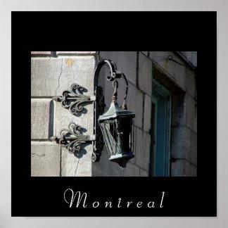 Montreal Lamp Poster