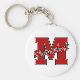 Montreal Letter Key Ring