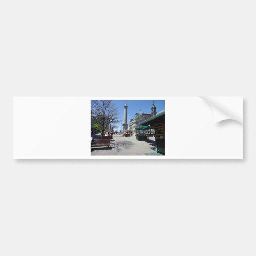 Montreal Old Port Bumper Sticker