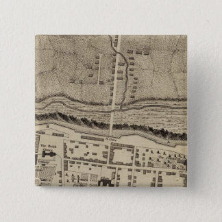 Montreal or Ville Marie 15 Cm Square Badge