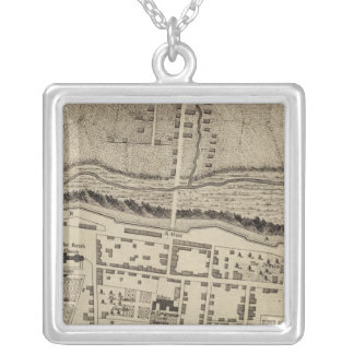 Montreal or Ville Marie Silver Plated Necklace