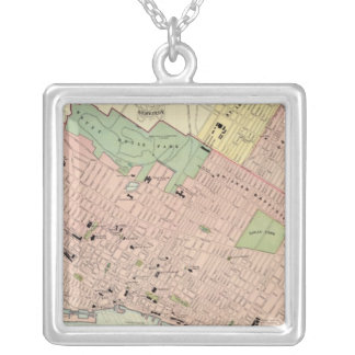 Montreal Silver Plated Necklace
