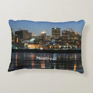 Montreal Skyline Decorative Cushion
