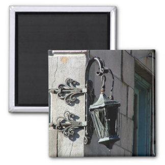 Montreal Street Lamp Square Magnet
