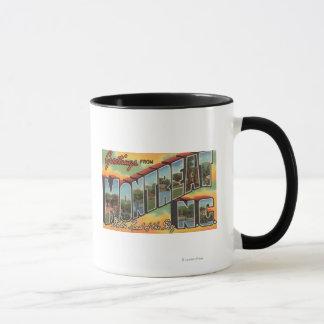 Montreat, North Carolina - Large Letter Scenes 2 Mug