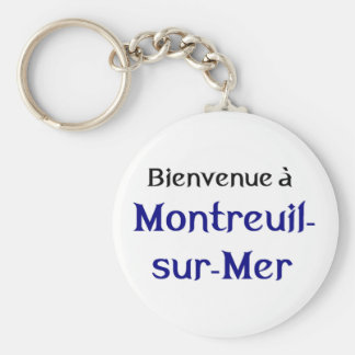 Montreuil Les Miserables Basic Round Button Key Ring