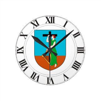 Montserrat Coat of Arms Wall Clocks