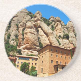 Montserrat Monastery, Catalonia, Spain Beverage Coasters