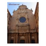 Montserrat monastery post card