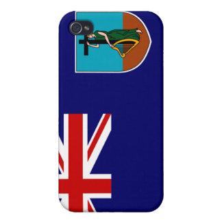 Montserrat National Flag Symbol  iPhone 4/4S Case