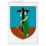Montserrat Official Coat Of Arms Heraldry Symbol
