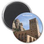 Montserrat Refrigerator Magnets