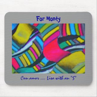 Monty s Licorice Mousepad