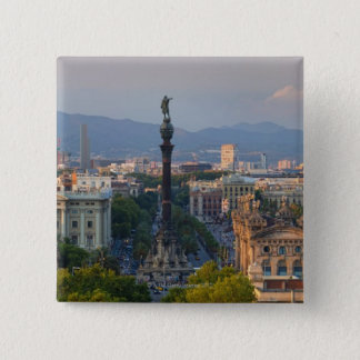 Monument a Colom 15 Cm Square Badge