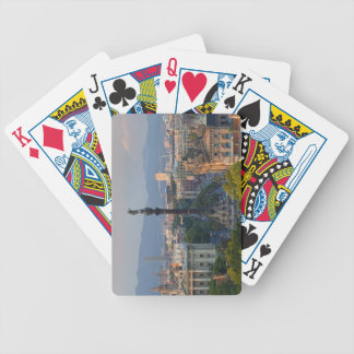 Monument a Colom Bicycle Playing Cards