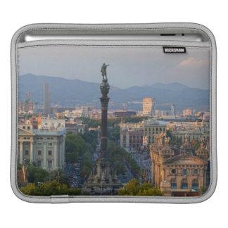 Monument a Colom iPad Sleeve