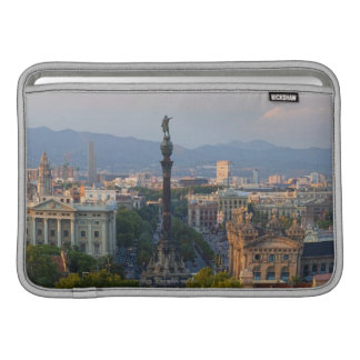 Monument a Colom MacBook Sleeve