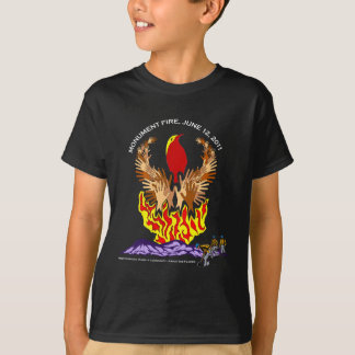 Monument Fire Arizona T-Shirt
